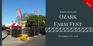 Ozark Farm Fest 2016